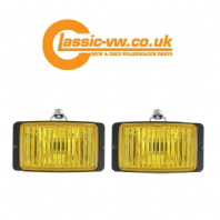 Front Fog Light Set Yellow